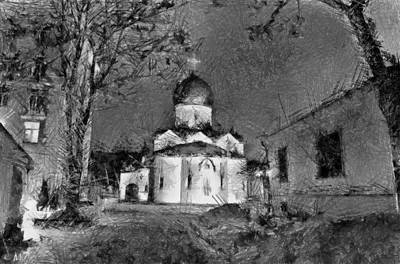Digital Art - Domes And Churches by Michael Goyberg