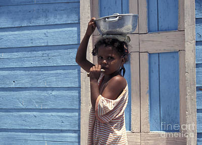 Photograph - Dominican Girl by John  Mitchell