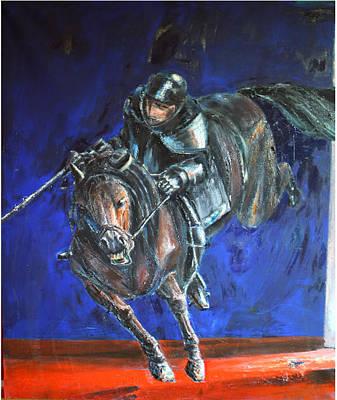 Don Quijote Painting - Don Quijote by Niksic Kresimir