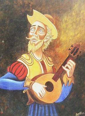 Don Quijote Painting - Don Quijote by Unique Consignment