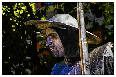 Art Print featuring the photograph Don Quixote Color by Rick Bragan