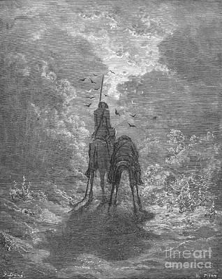 Novel Photograph - Don Quixote by Granger