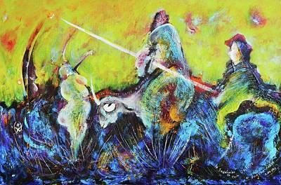 Don Quixotte Original by Ion vincent DAnu