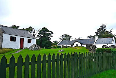 Art Print featuring the photograph Donegal Home by Charlie and Norma Brock