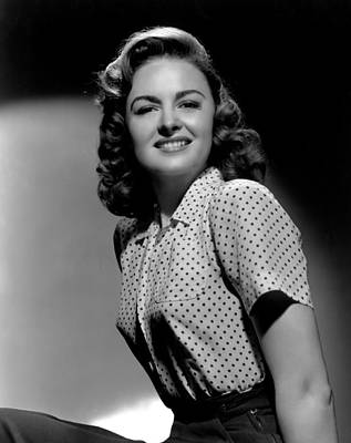 Donna Reed, 1944 Art Print by Everett
