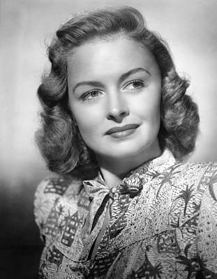 11x14lg Photograph - Donna Reed, Ca. 1940s by Everett