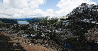 Photograph - Donner Lake From The Summit by Gary Rose