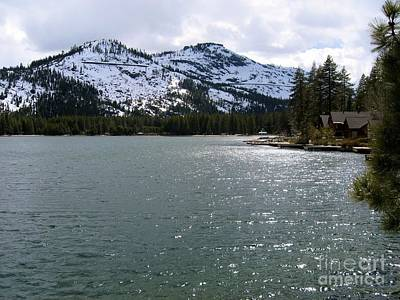 Photograph - Donner Lake by Phyllis Kaltenbach