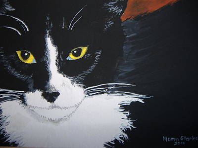 Art Print featuring the painting Don't Bug Me by Norm Starks