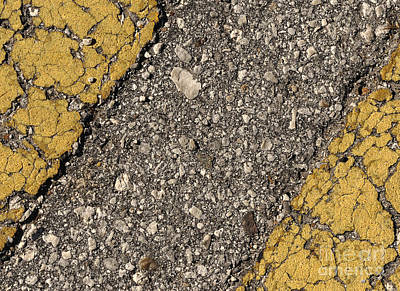 Photograph - Don't Cross The Yellow Lines by Nancy Greenland