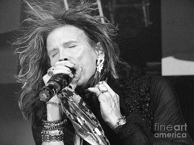 Steven Tyler Photograph - Don't Want To Miss A Thing by Traci Cottingham