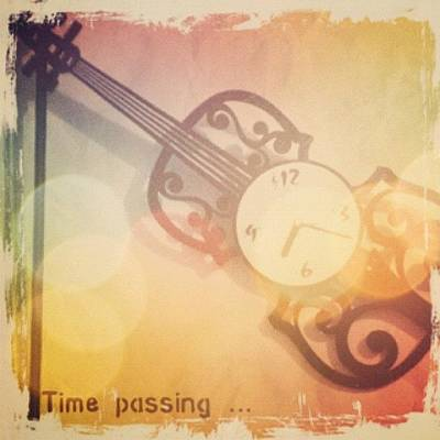 Violin Wall Art - Photograph - Don't Watch The Clock, Do What It by Liana Gunawan