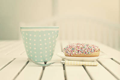 Photograph - Donuts And Coffee Mug by Www.andreakamal.com