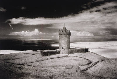 Sombre Photograph - Doonagore Tower by Simon Marsden