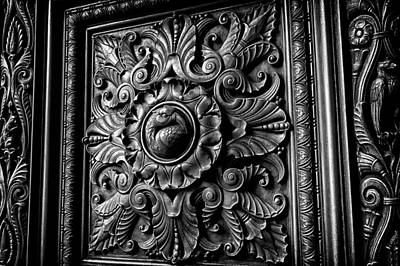 Photograph - Door Detail 1 by Val Black Russian Tourchin