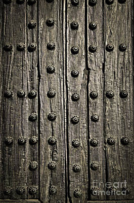 Photograph - Door Detail by Elena Elisseeva