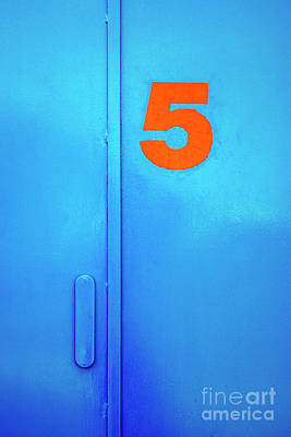 Blue Buildings Photograph - Door Five by Carlos Caetano