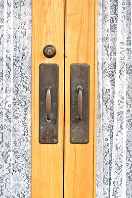 Photograph - Door Handles by Tom Gowanlock