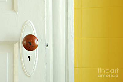 Doorknob Photograph - Door by HD Connelly