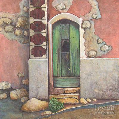 Door IIi Art Print by Pamela Iris Harden