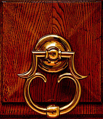 Photograph - Door Knocker by Greg Sharpe