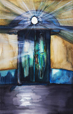 Painting - Door Light by Tara Thelen