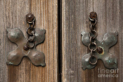 Photograph - Door Pulls by Kim Henderson