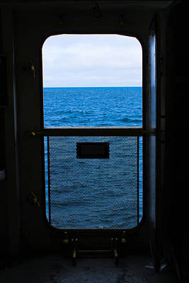 Merchant Mariners Photograph - Door To Nowhere by Tim  Telep