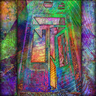 Digital Art - Door To The Lightness Of Being by Barbara Berney