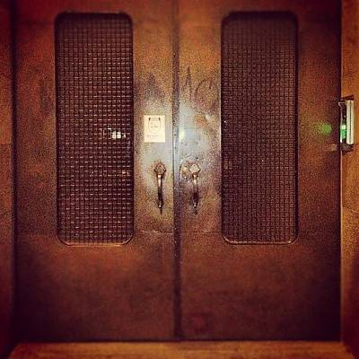 #door#photography#art#steampunk#prison Art Print