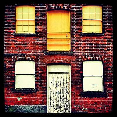 Norfolk Wall Art - Photograph - Doors And Windows #wall #bricks #door by Invisible Man