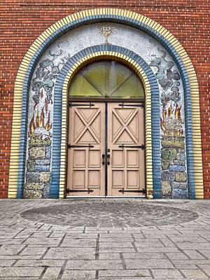Doors Of Faith  Art Print by Jerry Cordeiro