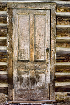 Photograph - Doors Of St Elmo II by Ellen Heaverlo