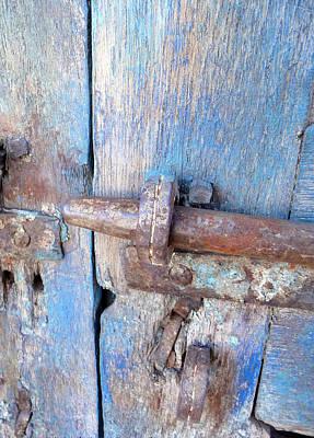 Aged Wood Digital Art - Doors1 by Olivier Calas