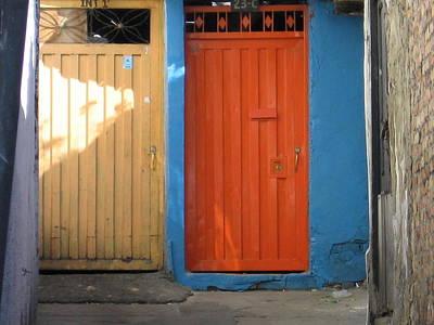 Photograph - Doors1 by Roberto Perez