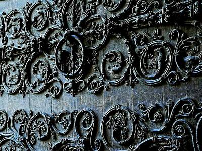 Photograph - Doorway Adornments by Eric Tressler