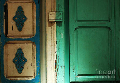 Doorway In Tunisia 4 Art Print