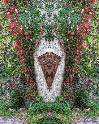 Photograph - Doorway To Faeryland by Diana Haronis