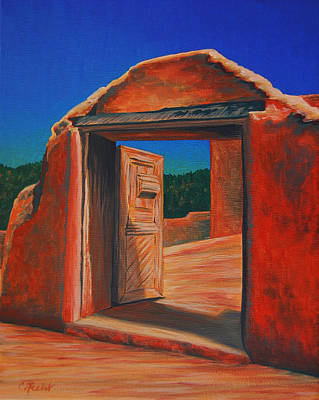 Painting - Doorway To Las Trampas by Cheryl Fecht