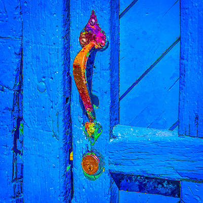 Art Print featuring the photograph Doorway To Santa Fe by Ken Stanback