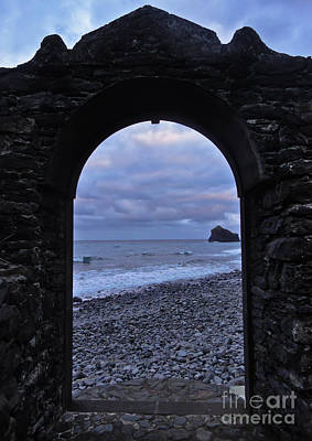 Photograph - Doorway To The Sea II by Nabucodonosor Perez