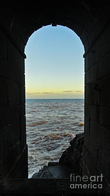 Photograph - Doorway To The Sea by Nabucodonosor Perez