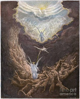 DorÉ: Last Judgment Print by Granger