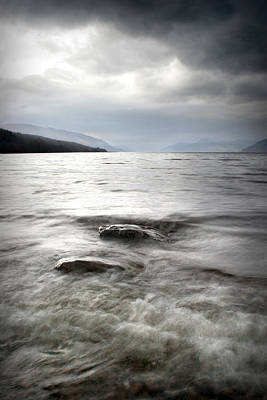 Photograph - Dores Beach Loch Ness by Joe Macrae