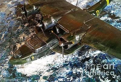 Sculpture - Dornier Flying Boat by Rich Holden
