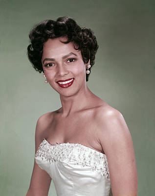 Photograph - Dorothy Dandridge, 1954 by Everett
