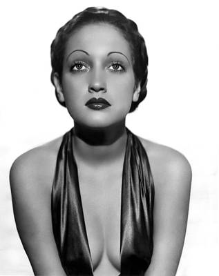 Photograph - Dorothy Lamour As A C.b.s. Radio by Everett