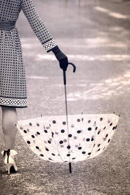 Asphalt Photograph - Dotted by Joana Kruse