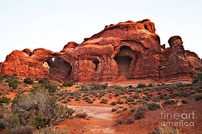 Photograph - Double Arch II by Robert Bales