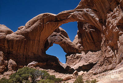 Photograph - Double Arch by Photo Researchers